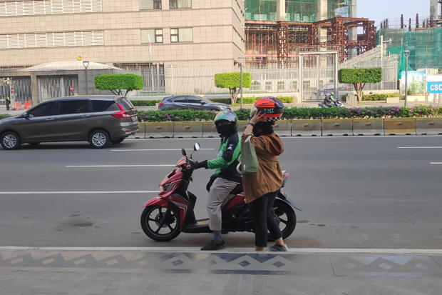 Ojol Kembali Beroperasi, Driver: Orderan Penumpang Masih Sepi