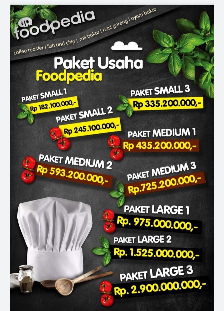 Membuka Usaha Dengan Foodpedia