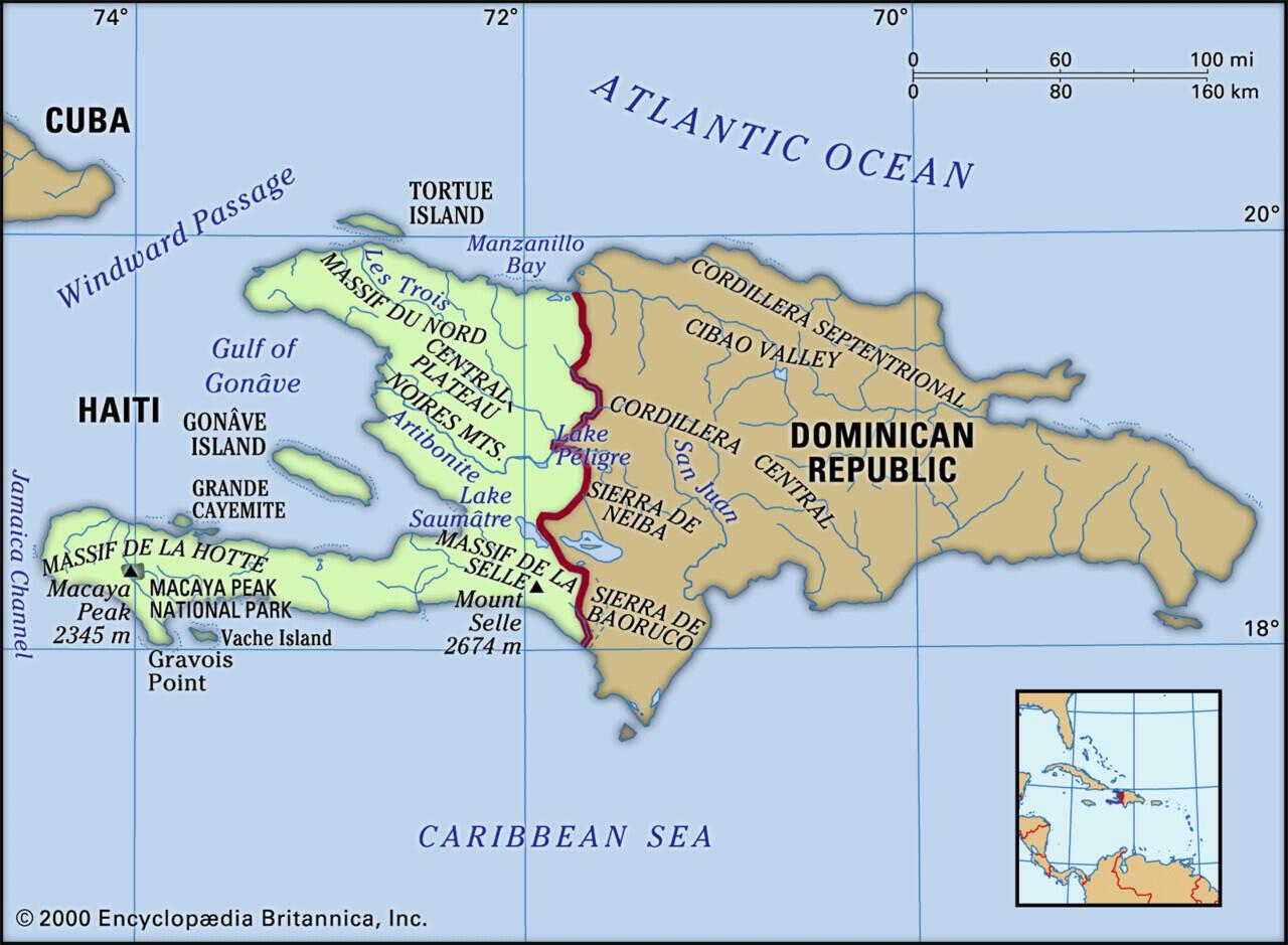 Pulau yang Terbagi oleh Dua atau Lebih Negara