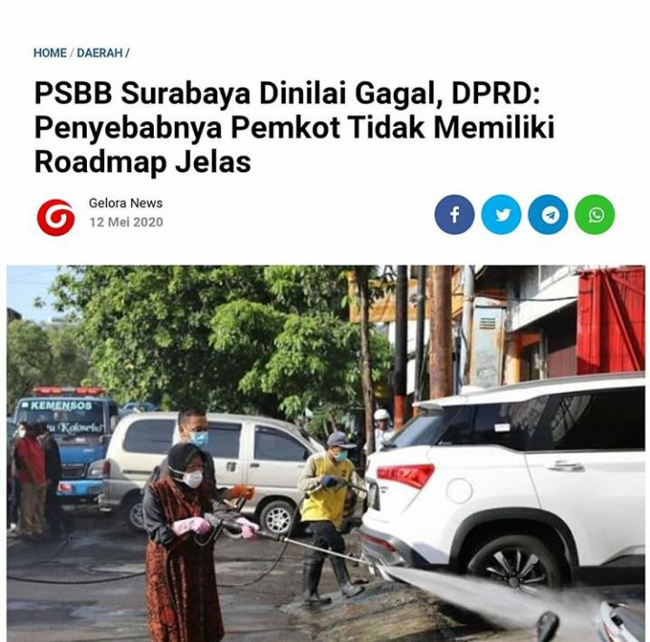 Teguran Keras Pangdam V Brawijaya untuk Surabaya Raya,Kepala Daerah Diminta tak