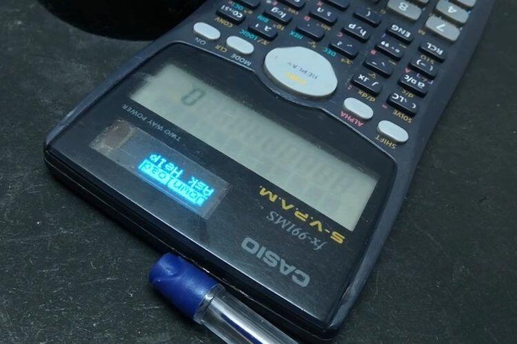 Keren nih Orang, Ngoprek Kalkulator Buat Bisa Internetan