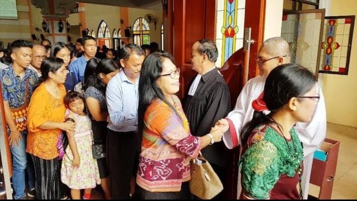 Seorang Pendeta dan Belasan Jemaat Gereja di Batam Positif Corona