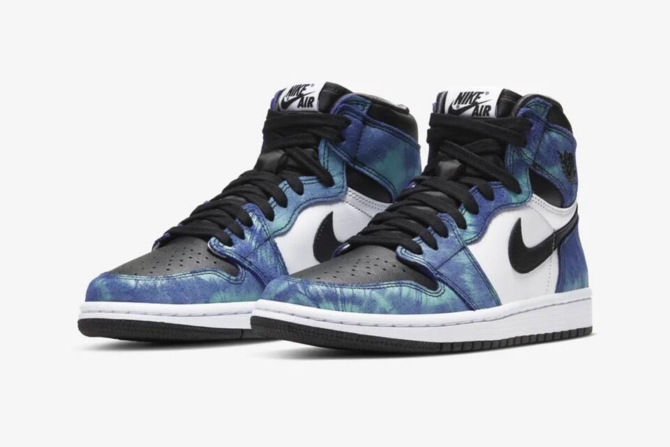 Nike Hadirkan Air Jordan 1 High dengan Konsep Tie-Dye!