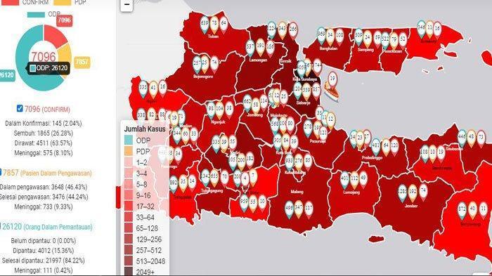 Bukan Jakarta! Ternyata Korban Meninggal Corona Tertinggi Indonesia Ada di Daerah Ini