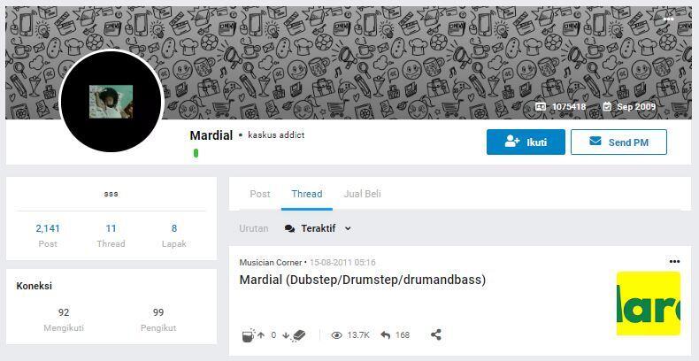 Mamang Kesbor Rilis Album Musik Lewat Pornhub, Jenius Nih Orang!
