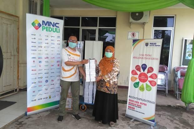 MNC Peduli-PT Produser Pangan Asia Bantu Tenaga Medis di RSUD Depok