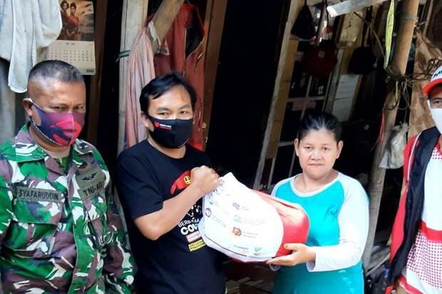 Peduli Dampak Covid-19, Pemuda Muhammadiyah Salurkan Sembako