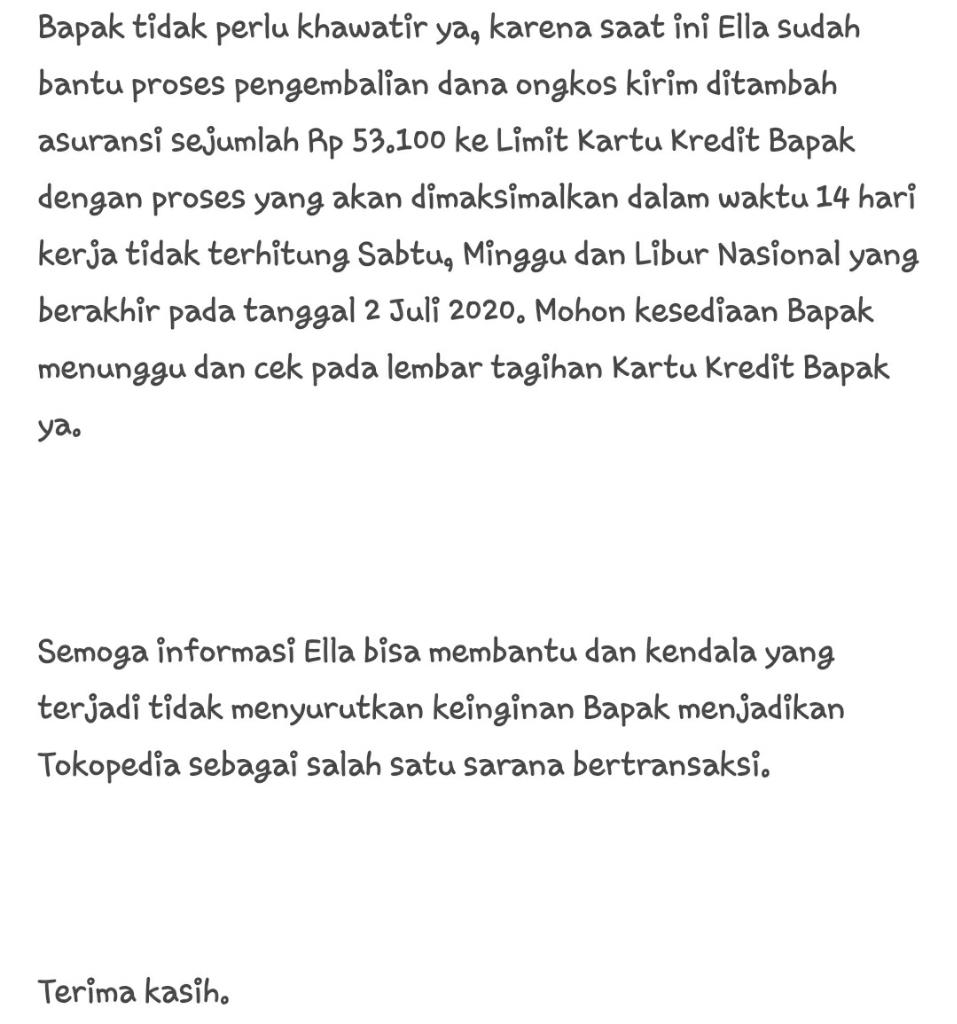 "Tokopedia: Barang Di Komplaint, Merchantnya ""Nakal"" Buyer Yang Rugi."