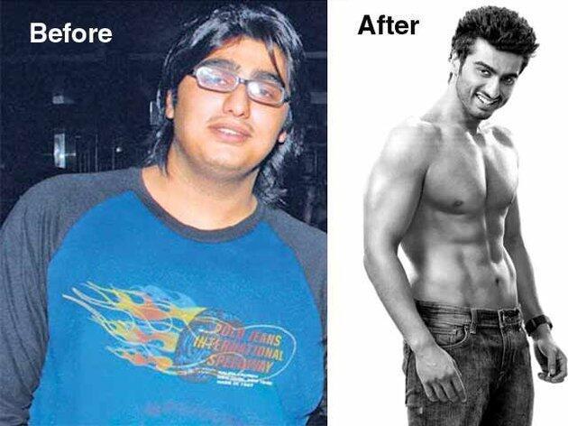"""WOW!! Perubahan Bentuk Badan Seleb India """"Fat to Fab"""""""