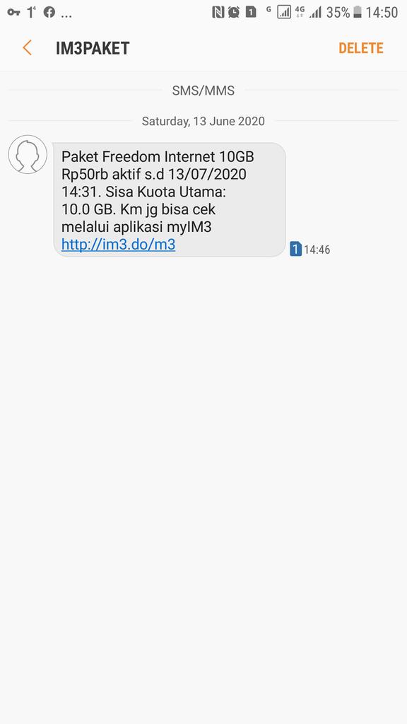 Ganti SIM Card di gerai indosat (Lippo Karawaci Tangerang) dikenakan biaya 75.000
