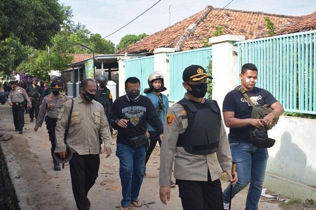 Pascatawuran, Polisi Cirebon Temukan Celurit, Golok, Motov, dan Anak Panah