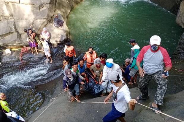 Tenggelam di Curug Rambu Kasang Brebes, Pengunjung Ditemukan Meninggal