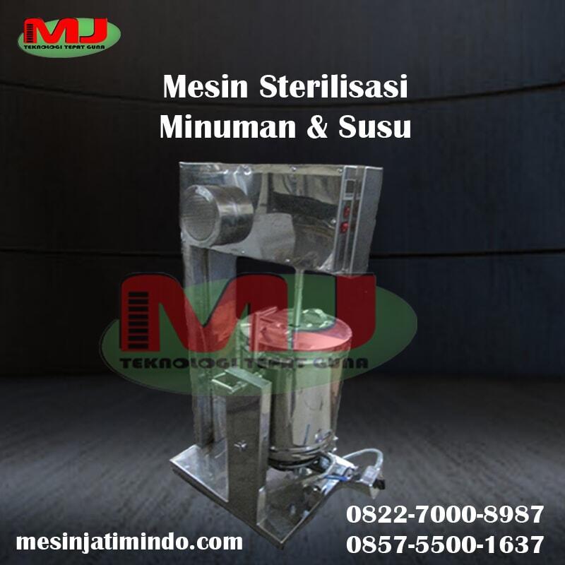 Mesin Pasteurisasi Susu | Alat Sterilisasi Minuman