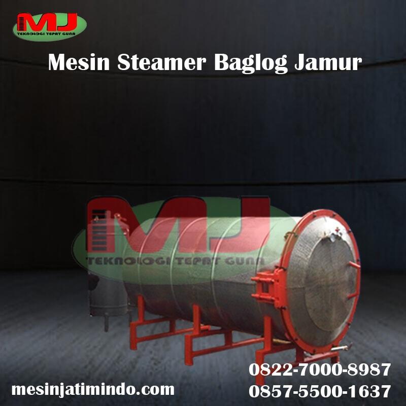 Mesin Steamer Baglog Jamur | Sterilisasi Baglog