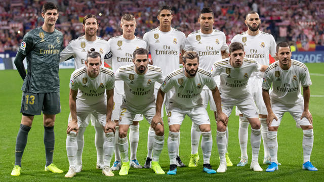 Perangi Corona, Madrid Lelang Jersey Pemain Bintang