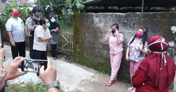 Anak Gadis di Masjid Priyayi Pada Kabur Mau Dirapid Test, Parno Duluan