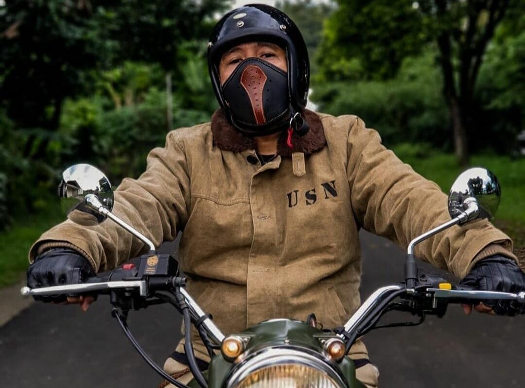 Gak Nyangka Masker Berbahan Kulit Buatan Lokal Sekeren Ini
