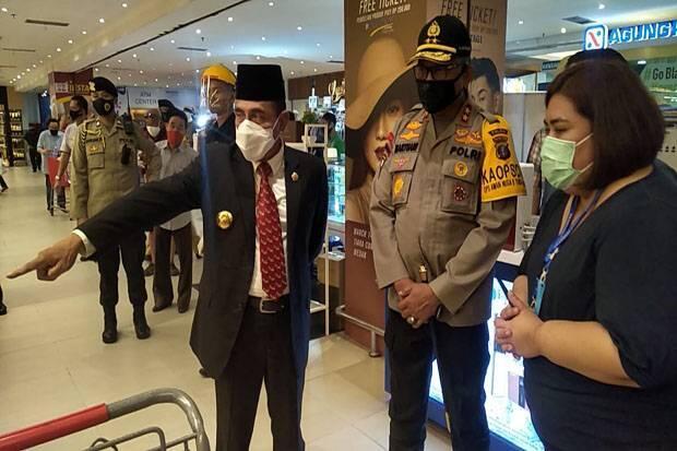 Hadapi New Normal, Kapolda, Gubernur dan Pangdam Periksa Mall di Medan