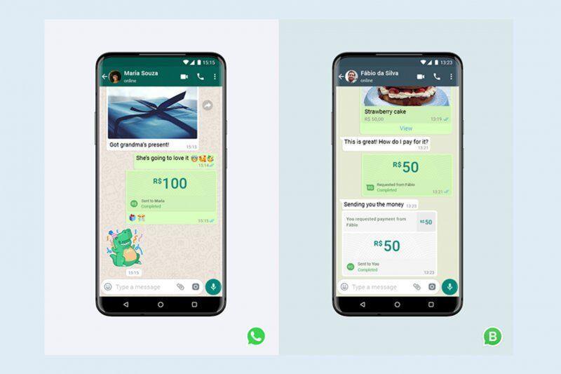 Dari WhatsApp bisa kirim uang dan bayar tagihan gan!
