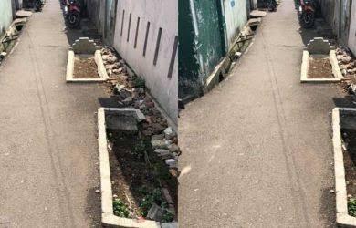 Kuburan Berada Di Gang Sempit Hanya Ada Di Jakarta