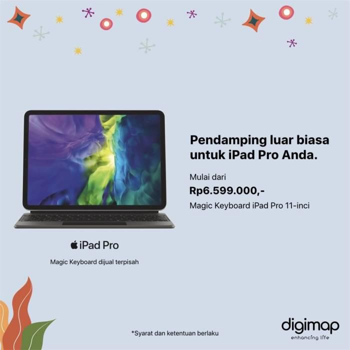 Resmi Dirilis, Ini Harga iPad Pro 2020 dan Magic Keyboard di Indonesia