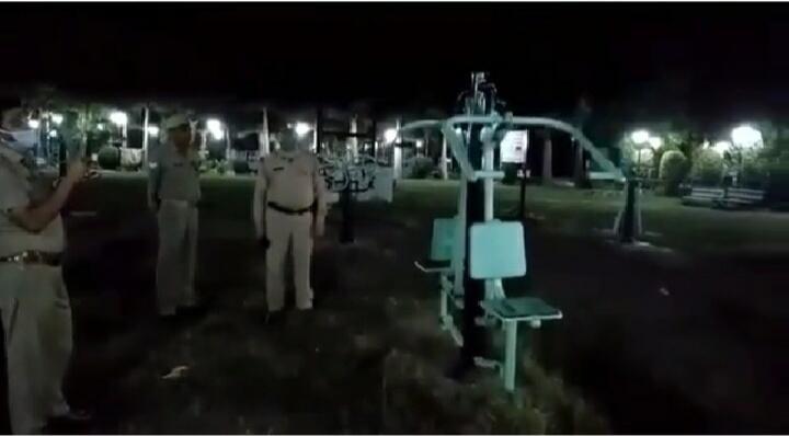 Geger! Beredar Vidio yang Menarasikan Hantu Nge-Gym di Taman Jhansi, India! Faktanya?