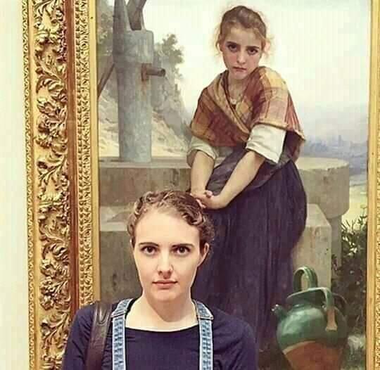 Mirip Banget! 14 Orang Ini Menemukan Kembaran Mereka Di Lukisan Terkenal Di Museum