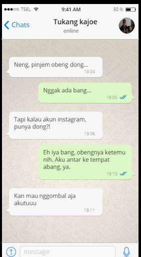 7 chat gombalan gagal yang bikin perus mules :D