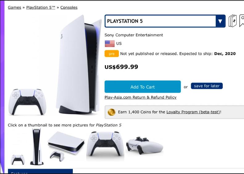 Harga Playstation 5 Bocor, Dibanderol Rp10 Jutaan?