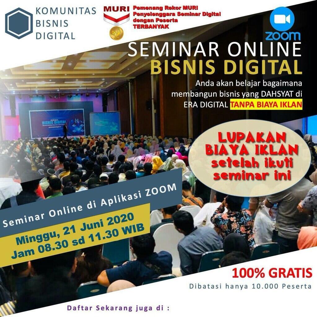 Seminar Bisnis Online Gratis
