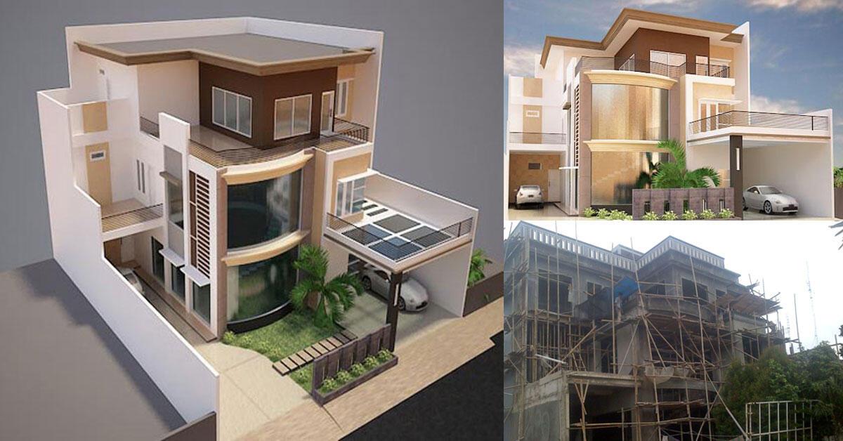 Arsitekonline, jasa desain rumah online, jasa arsitek rumah, gambar desain rumah,