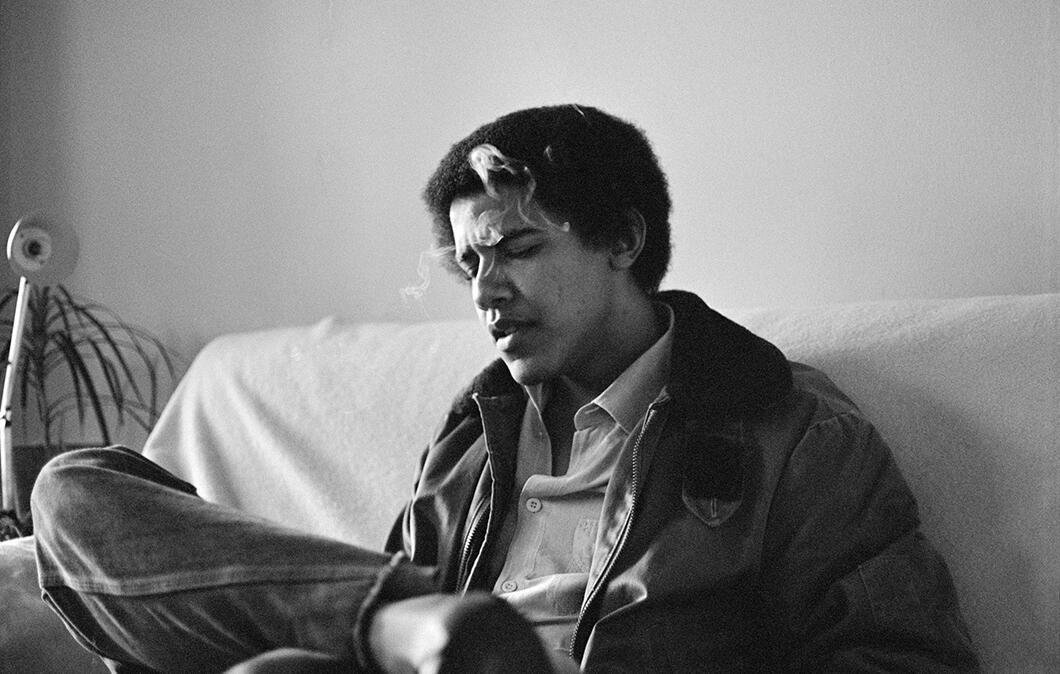 Siapa Sangka Kalau Obama Dulunya Pengisap Ganja, Nih Foto-fotonya Saat Muda Gan...