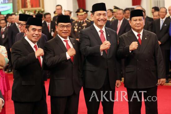 Inilah 5 Menteri Terburuk Jokowi Saat Ini Berdasarkan Survei, Setuju?