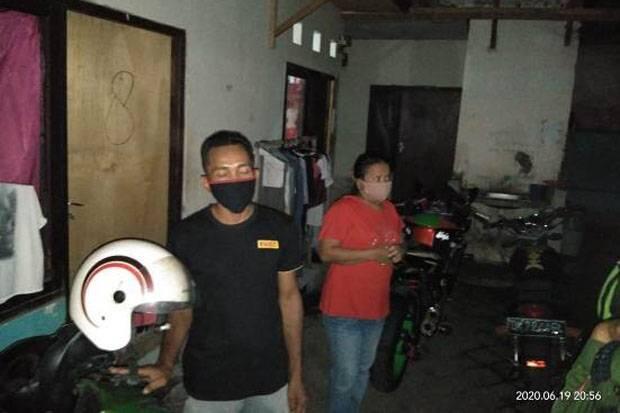 Satpol PP Denpasar Rapid Test 2 Orang Tanpa Identitas