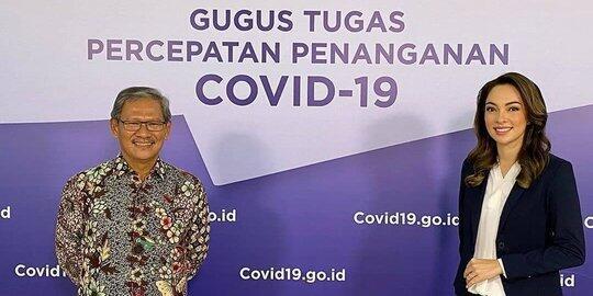 dr. Reisa Brotoasmoro Dari Puteri Indonesia menjadi Juru Bicara Covid-19
