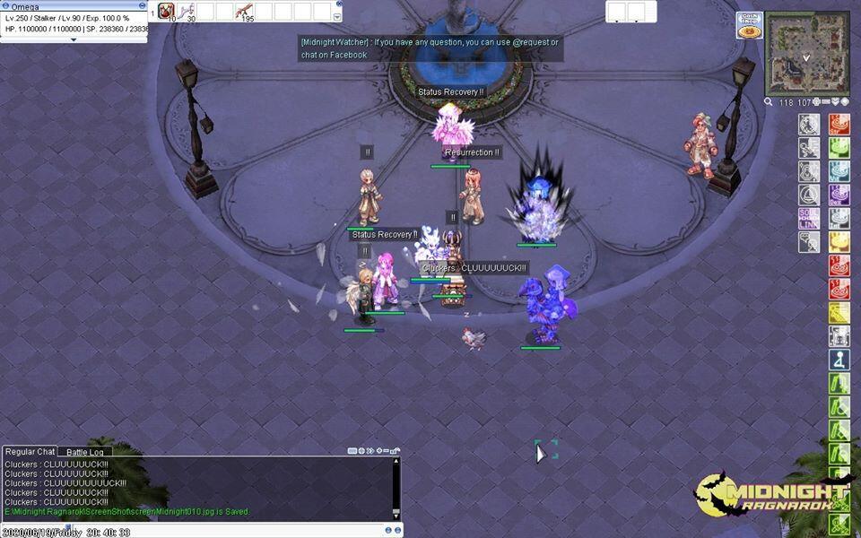 Midnigh Ragnarok (Private Server 250/90 | 2nd Trans | Pre-Renewal)