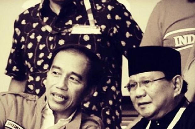 Posting Foto Bareng, Prabowo Doakan Jokowi Selalu Berkah dan Bahagia