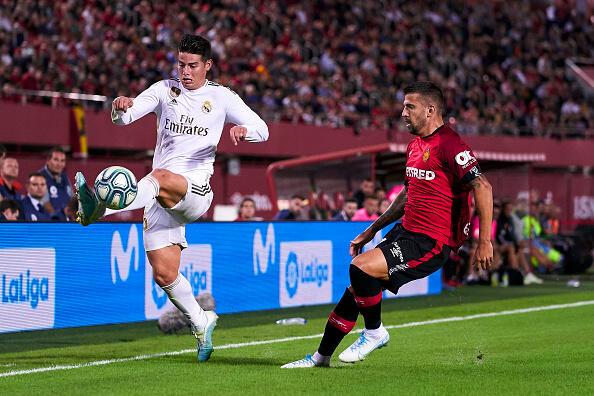 Akhirnya James Rodriguez Bela Real Madrid Lagi