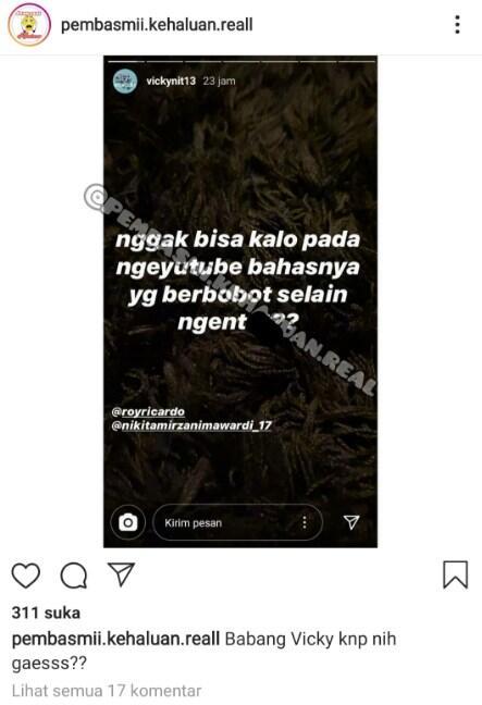 Vicky Nitinegoro Marah Besar Tanggapi Pengakuan Nikita Mirzani Soal 'Ena-ena' Bareng