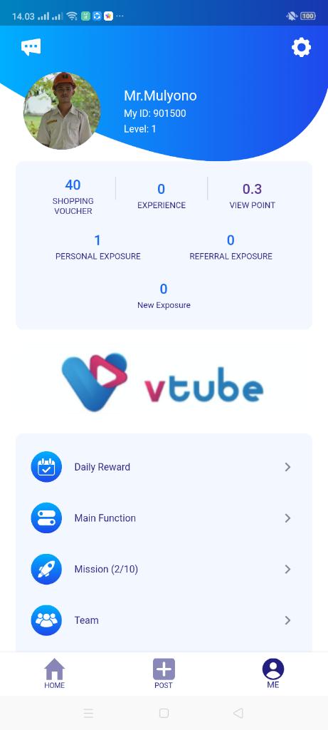 Cara Daftar Vtube Terbaru Aplikasi Penghasil Uang