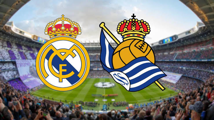 Hasil pertandingan Real Sociedad vs Real Madrid