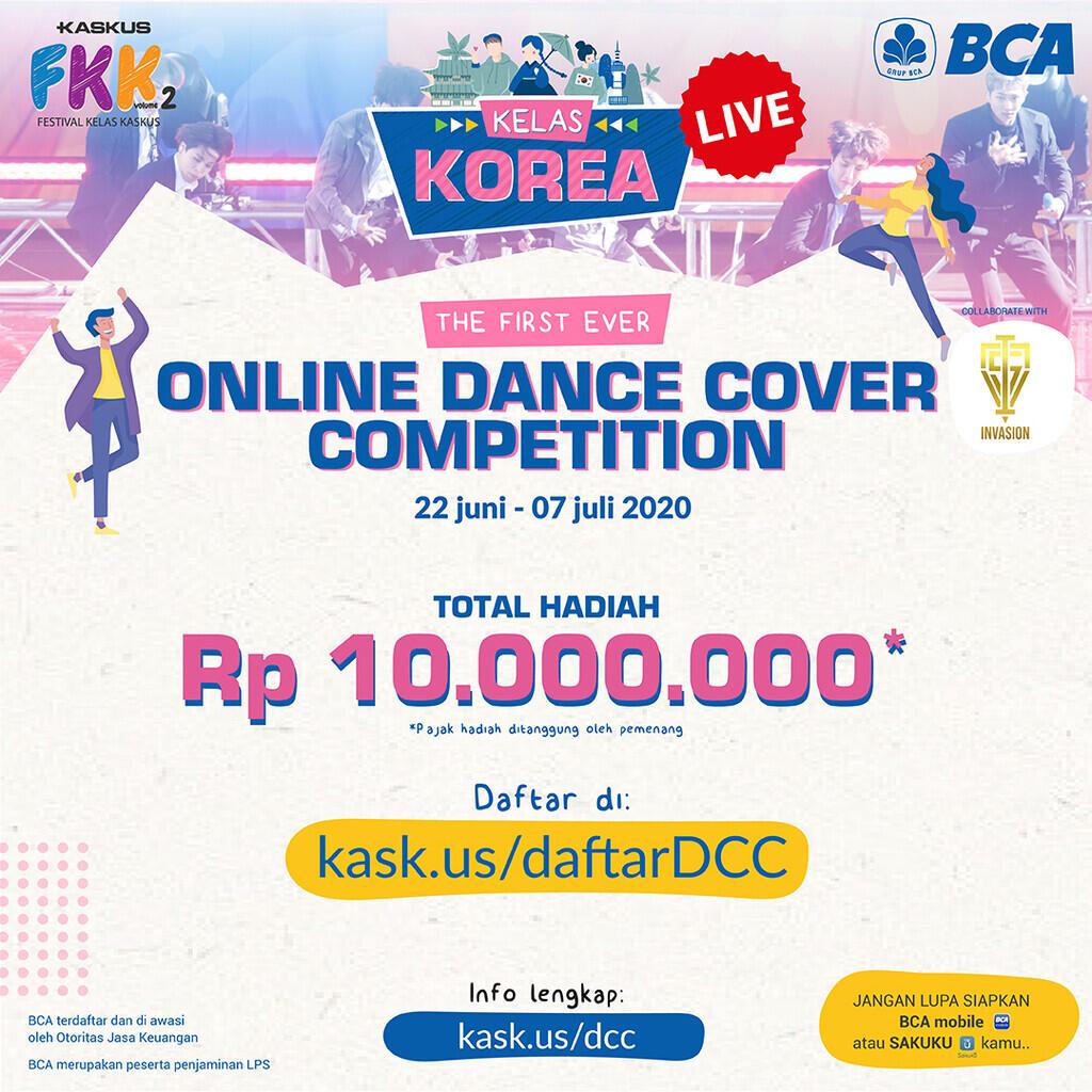 Kelas Korea is Back, Ikutan Dance Cover Competition Banyak Hadiahnya Loh