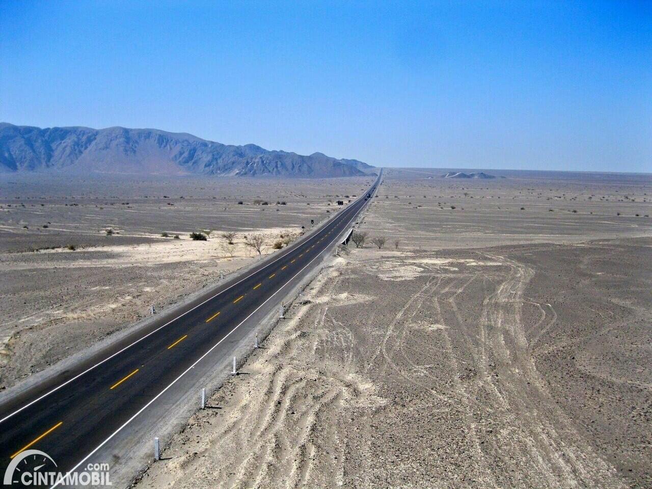 Jalan Raya ter-ekstrem yang pernah dibuat manusia. Ada yang berani lewat?
