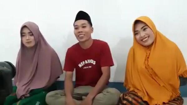 Pernikahan Viral dengan 2 Wanita di Lombok