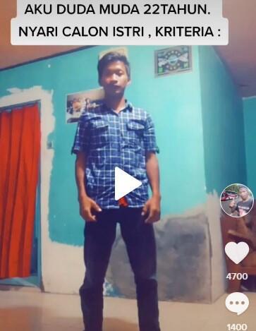 Viral Video Duda Muda Cari Jodoh, Umurnya Bikin Netizen Salfok