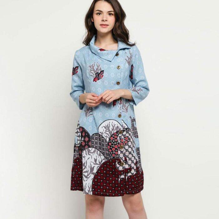 15 Model Baju Batik Kekinian