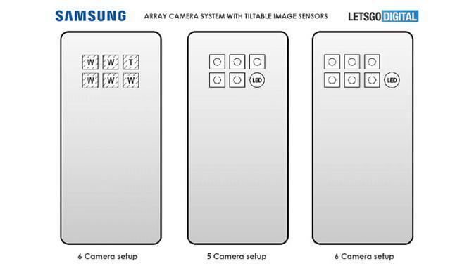 Keren, Samsung Galaxy S30 Bakalan Hadir dengan 6 Kamera Belakang