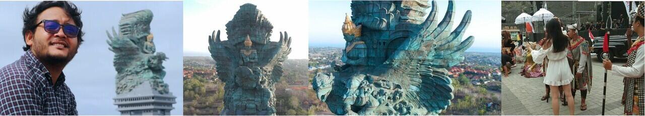 Patung Tembaga Terbesar di Dunia & Tertinggi ke Tiga Didunia, Garuda Wisnu Kencana