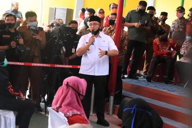 Wagub Banten Minta Tambahan Kuoata Bansos Ditambah