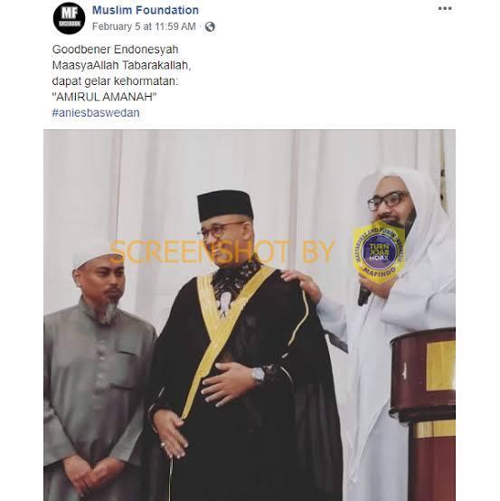 Hattrick WTP Jadi Bukti Keberhasilan Kepemimpinan Anies